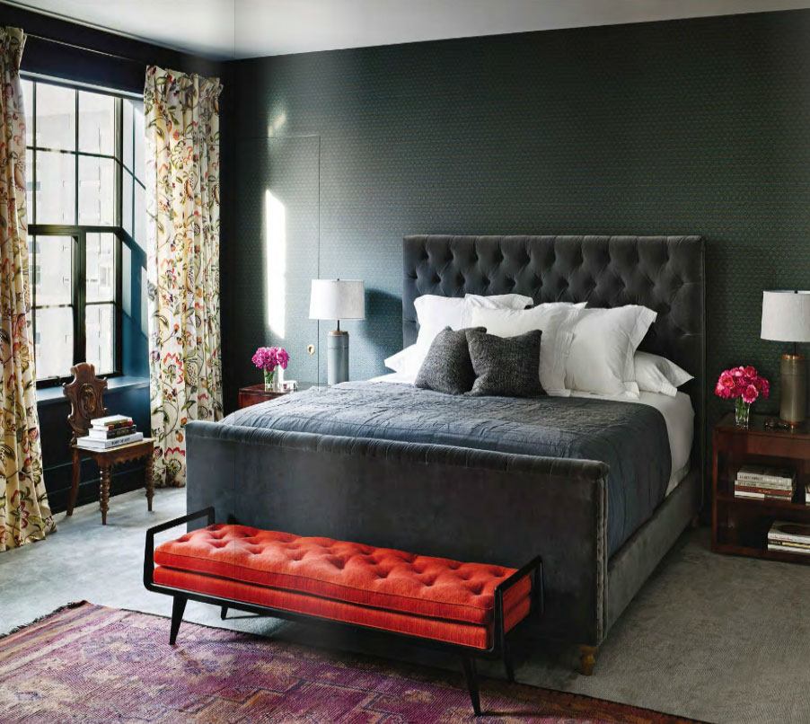 Masculine Master Bedroom: Interiors By Color (54 Interior Decorating Ideas