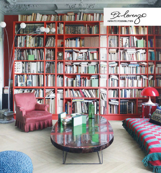 Red Home Library