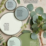 Green Paint Color Palette - Easy Greens