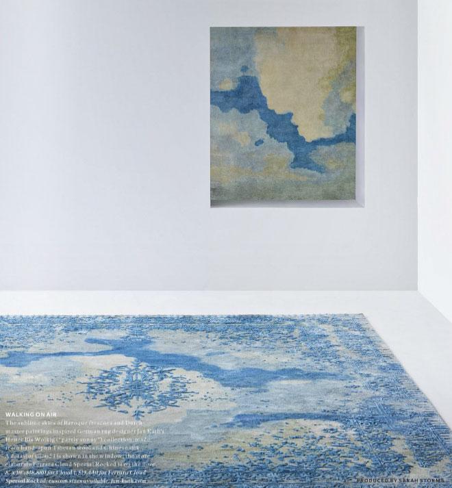 Jan Kath's Blue Rug