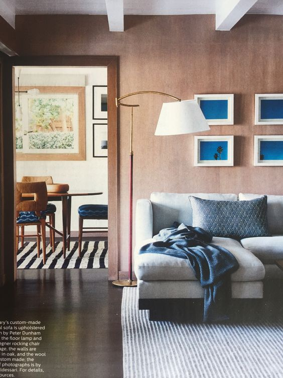 Peter Dunham LA, Elle Decor USA March 2016
