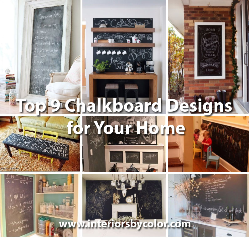 Top 9 Chalkboard Designs for Your Home