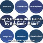 Top 9 Intense Blue Paints by Benjamin Moore