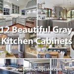 12 Beautiful Gray Kitchen Cabinets