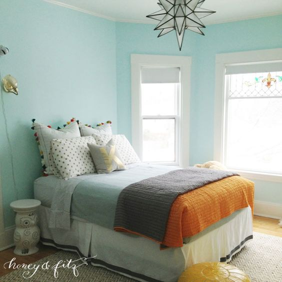 calm interior color palette and paint color ideas interiors by color