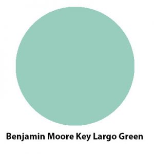 Benjamin Moore Key Largo Green