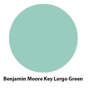 Benjamin Moore Key Largo Green