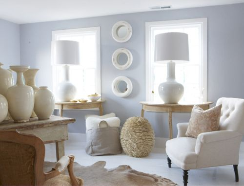 9 calm interior color palette and paint color ideas Paint colors for calming effect