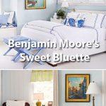 Benjamin Moore's Sweet Bluette