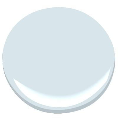 Benjamin Moore's Sweet Bluette paint swatch