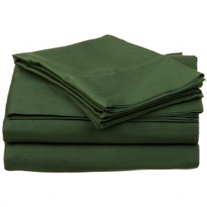 Egyptian Cotton 300 Thread Count Queen green