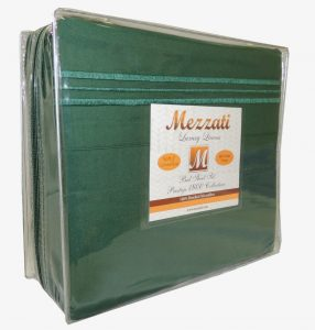 Mezzati Luxury Bed Sheets Set in green