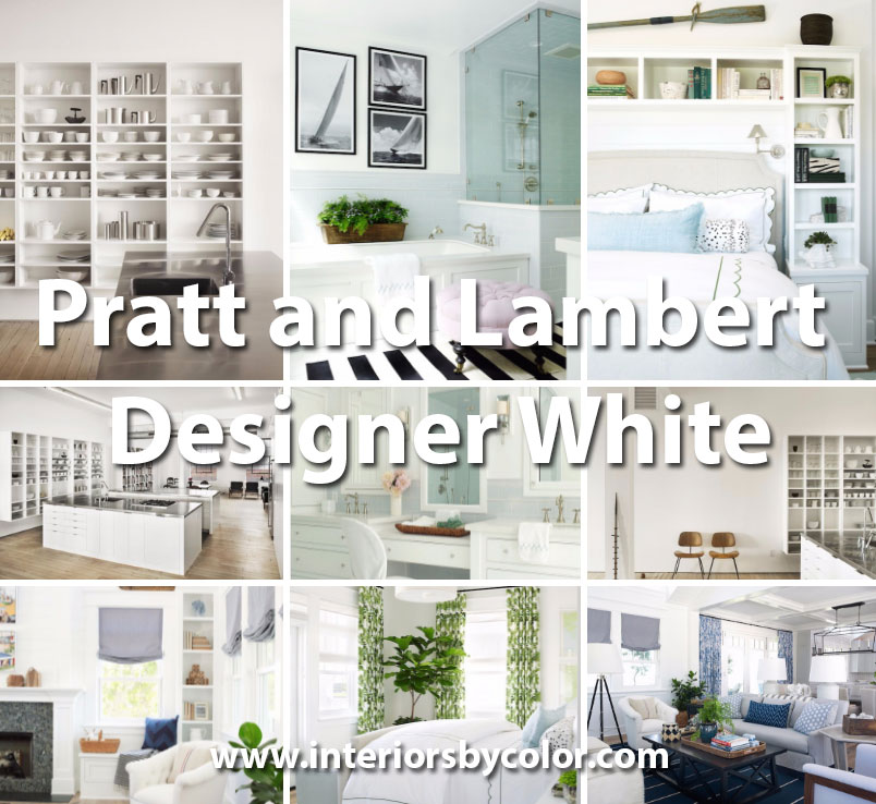 Pratt And Lambert Designer White Interiors By Color