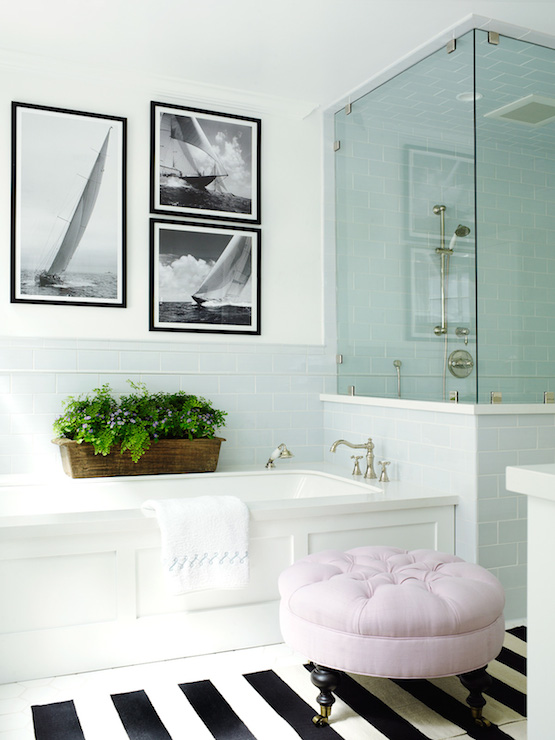 Pratt and Lambert Designer White bathroom walls.
