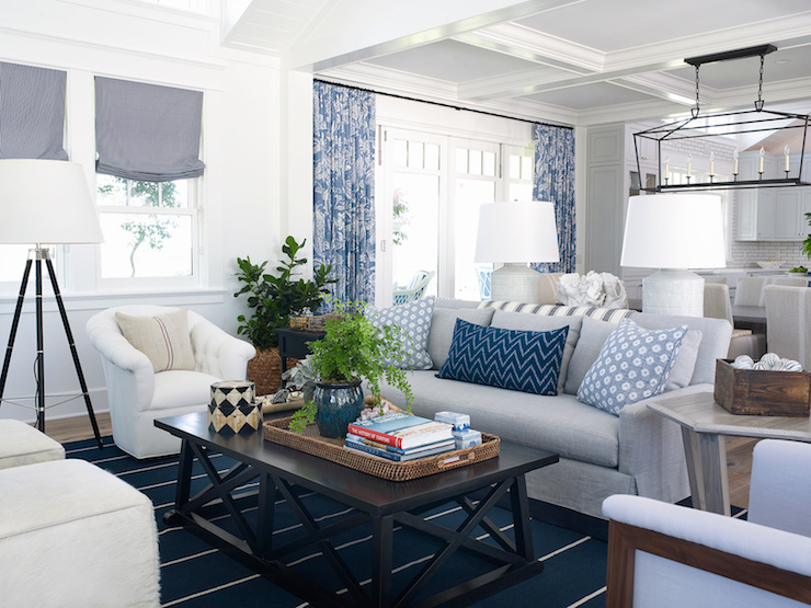 Pratt and Lambert Designer White walls. Via coastal living