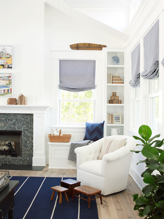 Pratt and Lambert Designer White via Coastal Living
