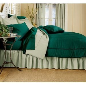 Reversible Solid Color Comforter