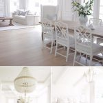 White Coastal Home Painted in Benjamin Moore's Simply White