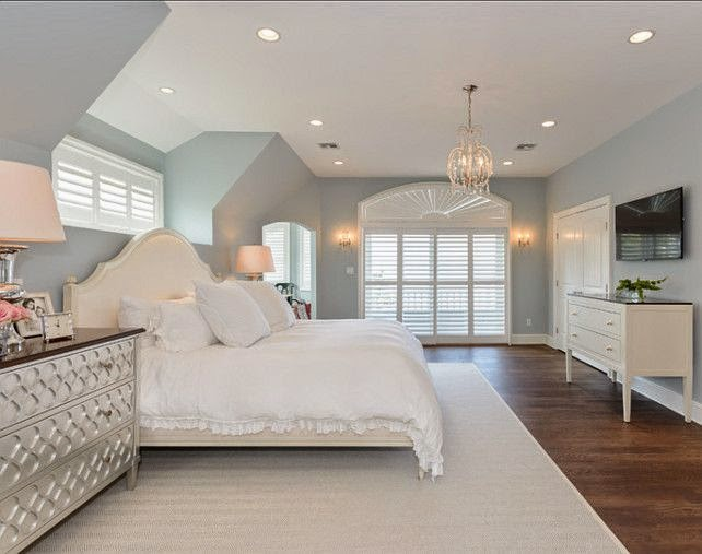 9 calm interior color palette and paint color ideas interiors by color for Best master bedroom colors benjamin moore
