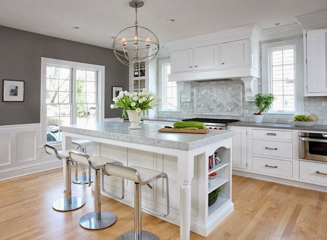 Tips For Kitchen Color Ideas: 9 Calm Interior Color Palette And Paint Color Ideas