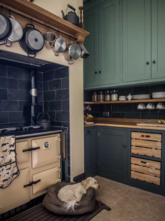 Country Kitchen Sage Green
