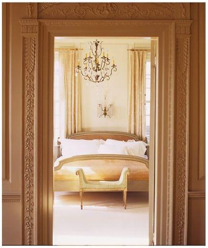 Amelia Handegan Design Traditional bedroom in neutral tones