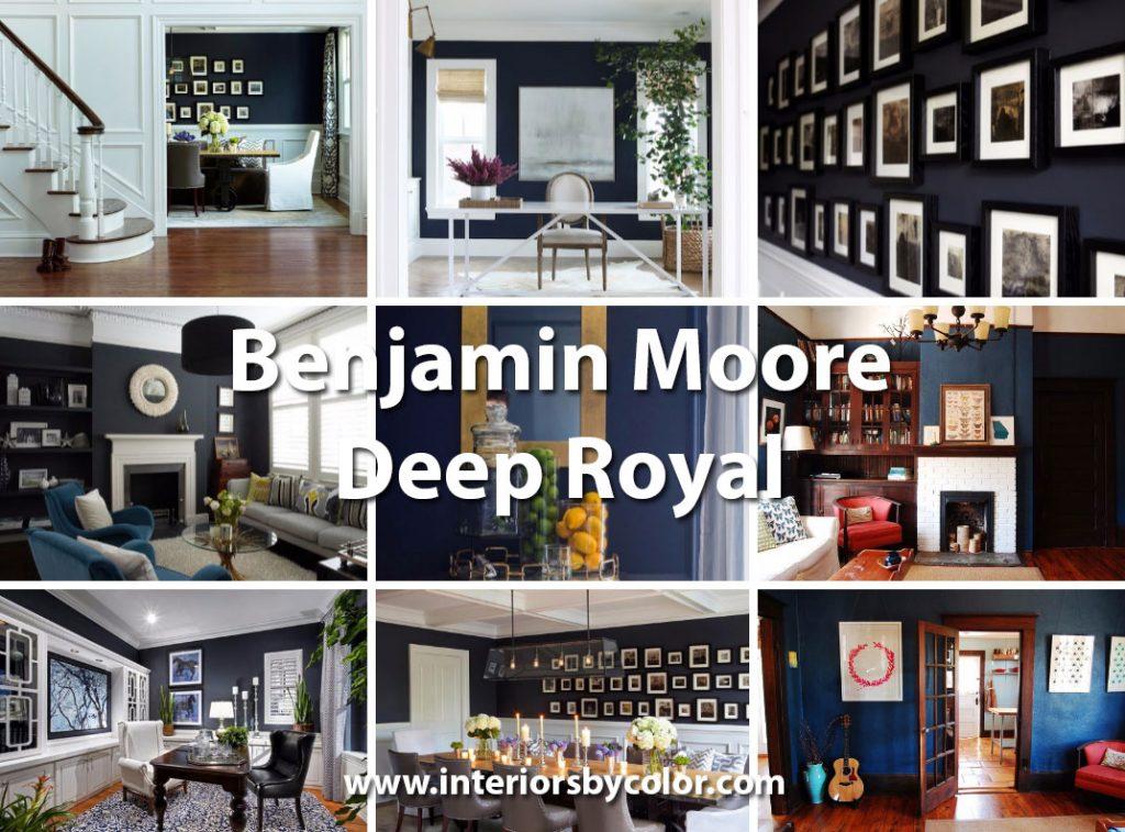 Benjamin Moore Deep Royal 2061-10 http://www.interiorsbycolor.com/