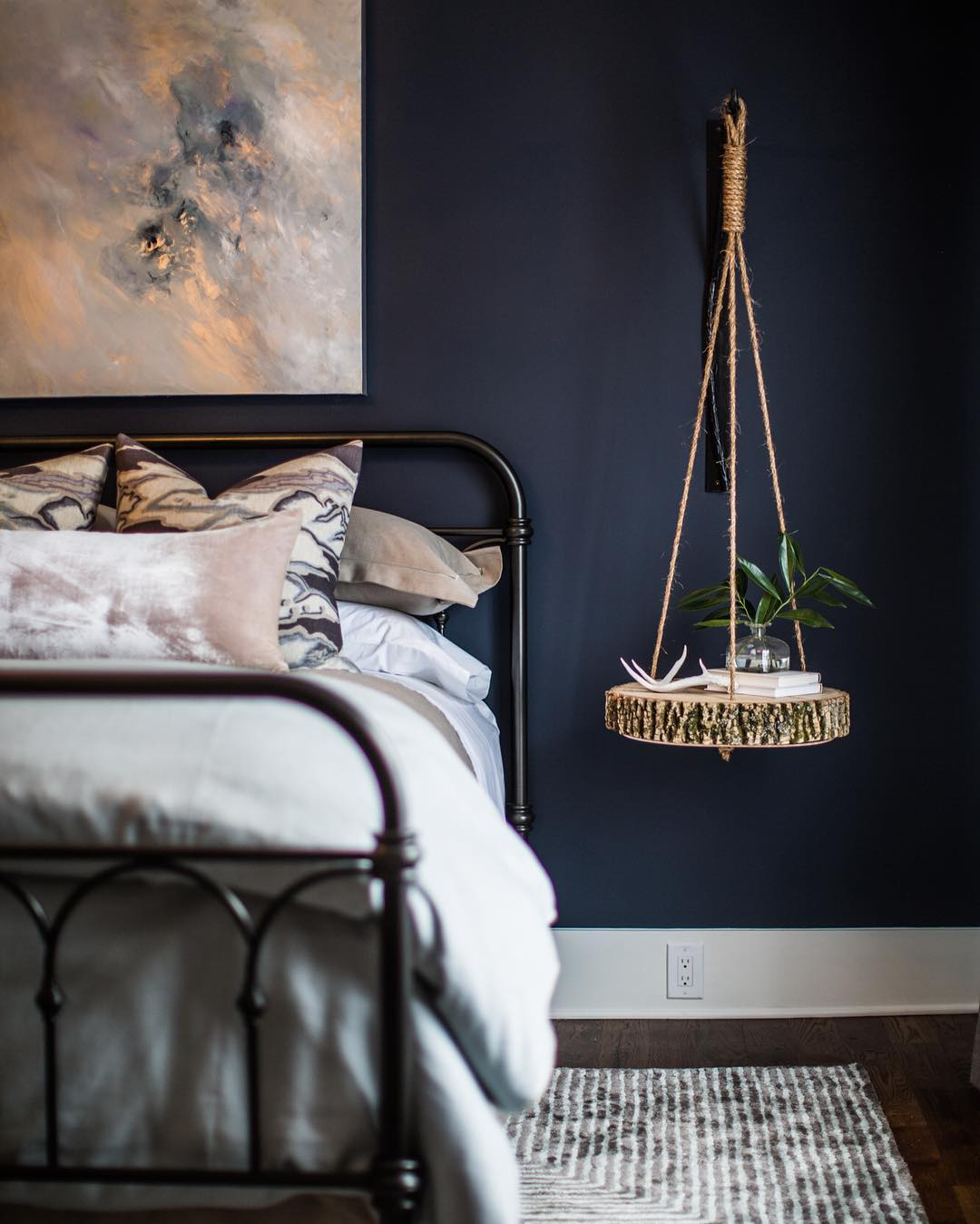 Benjamin Moore Hale Navy Bedroom Paint Interiors By Color
