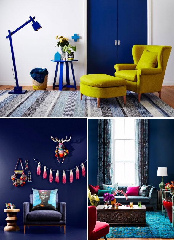Dulux Passionate Blue paint color