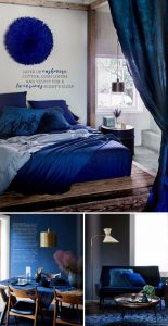Indigo interior decoration Colour Your Home in Indigo