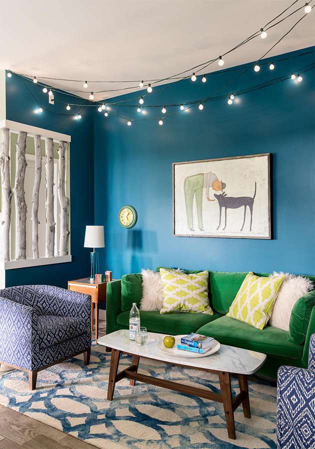 turquoise and green living room cool home in turquoise with green accents interiors by color 20517