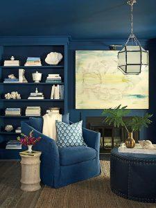Aqua Blue Couch Living Room