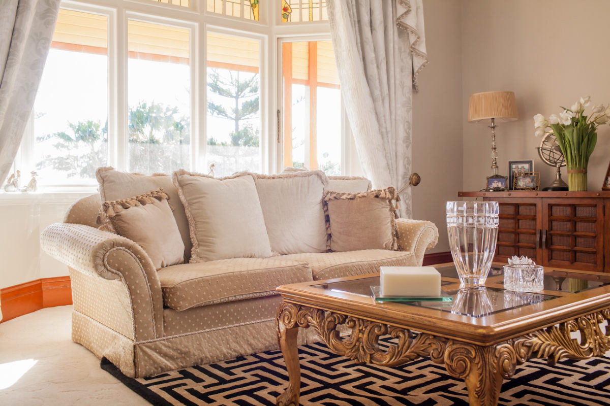 Traditional Living Room In A Neutral Color Scheme. Australian Interior  Designer