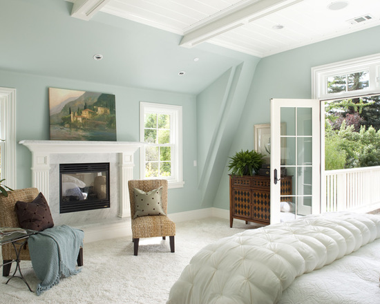 Benjamin Moore Woodlawn Blue HC-147