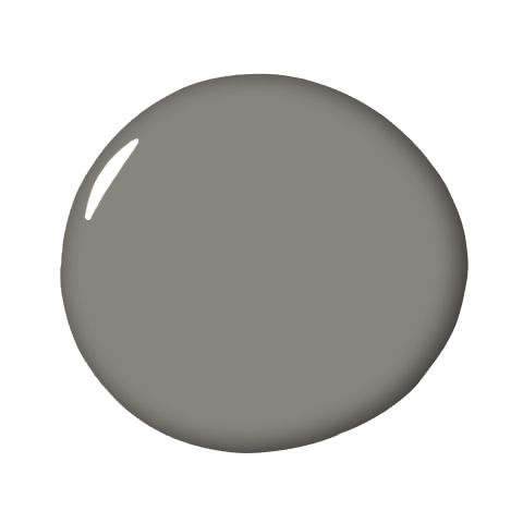 4 gray paint colors interior designers love interiors by for Benjamin moore chelsea gray
