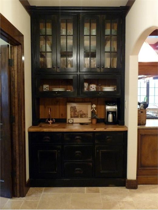 Coffee Bar In Kitchen Built In With Sink