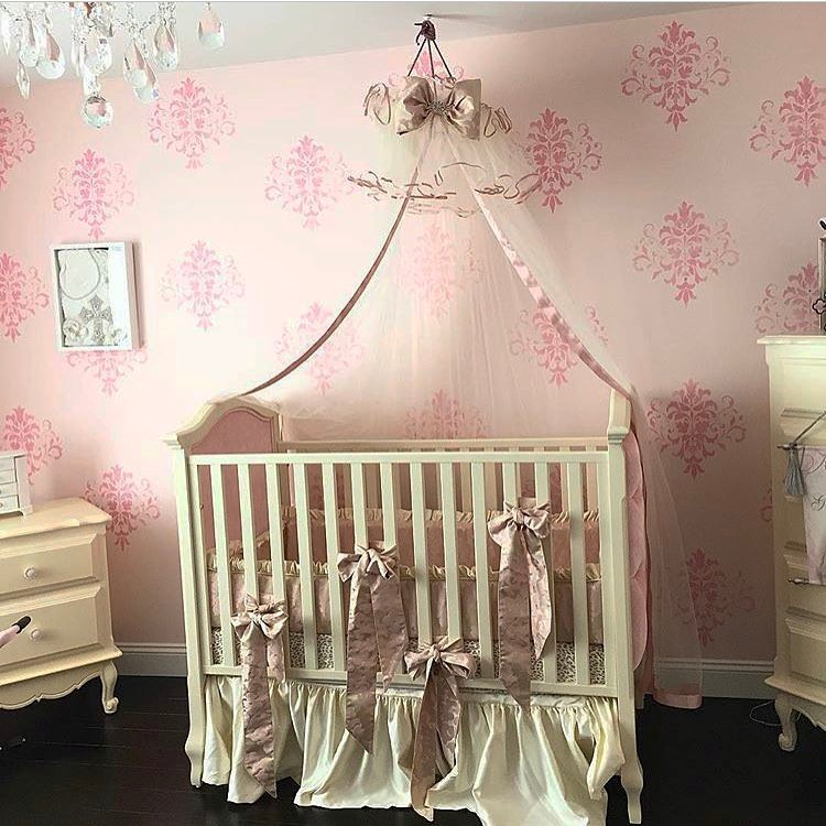 Vintage Nursery pink interior design ideas