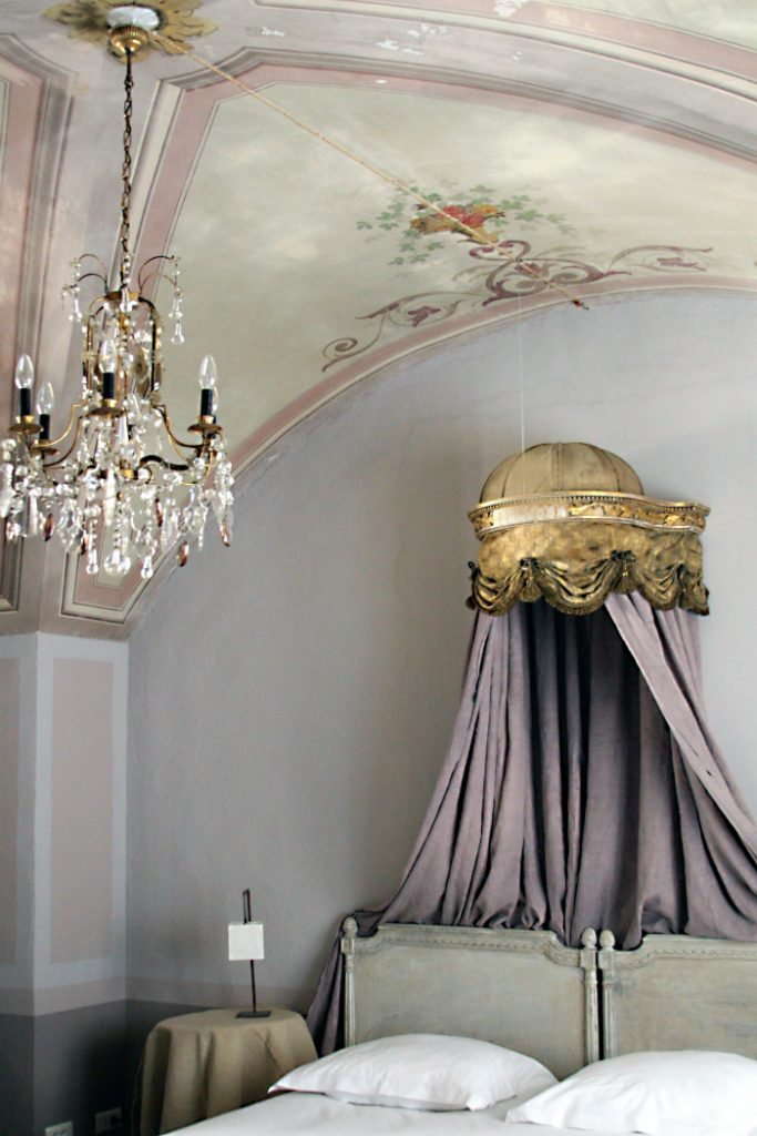 Chateau Style Decorating bedroom