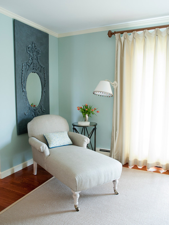 Interior paint color color palette ideas interiors by - Benjamin moore palladian blue living room ...