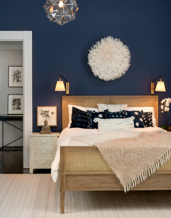 Benjamin Moore Stunning bedroom walls