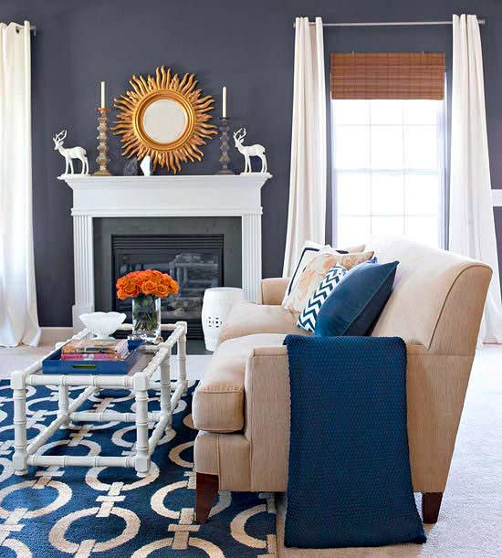 Benjamin Moore Colors For Your Living Room Decor: Interior Paint Color & Color Palette Ideas