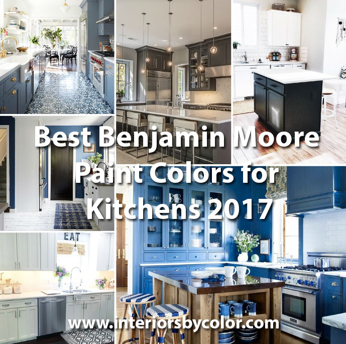 Grey Owl Kitchen: Best Benjamin Moore Paint Colors For Kitchens 2017