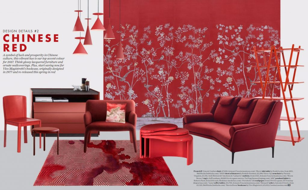 Chinese Red Interior Design Ideas