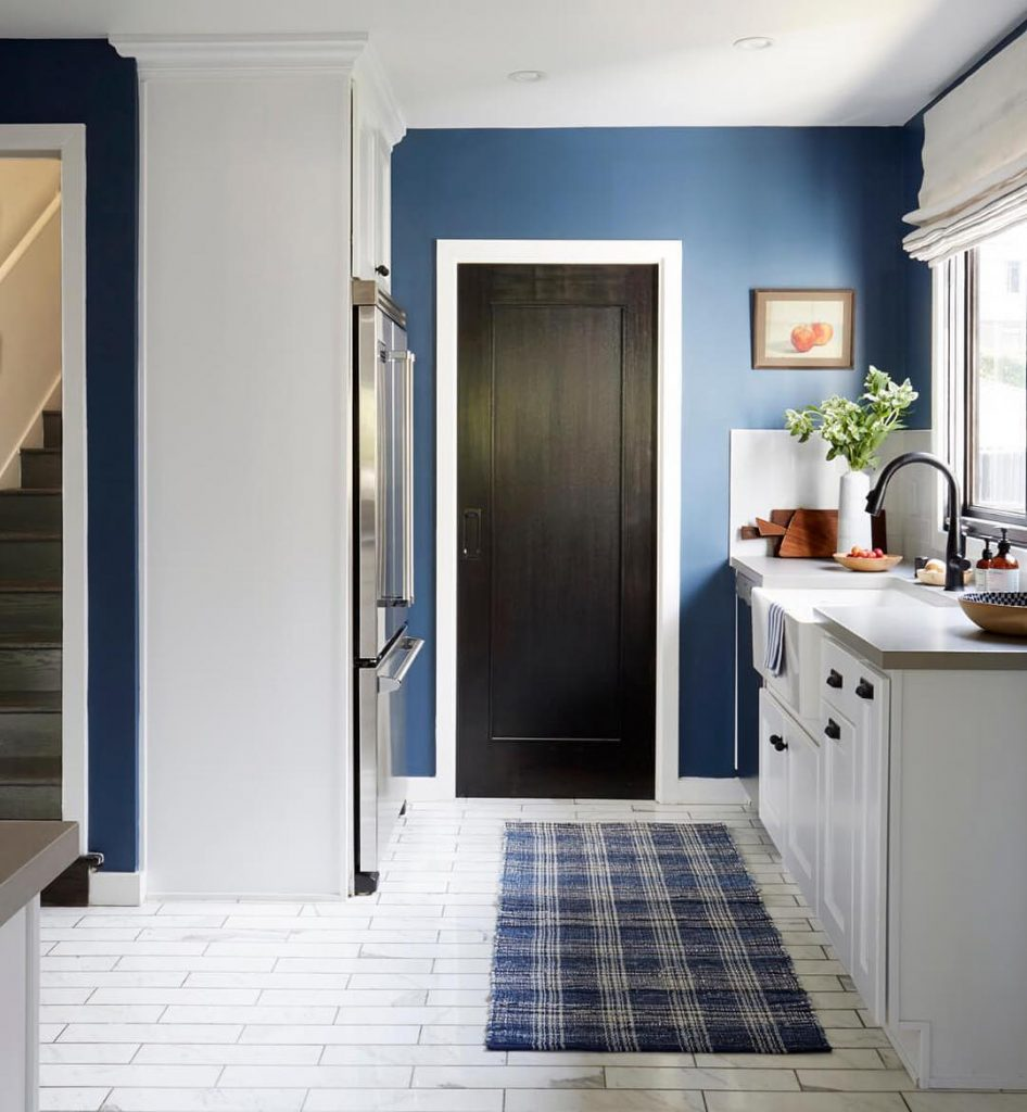 An Amazing Kitchen Painted In Farrow Ball Stiffkey Blue