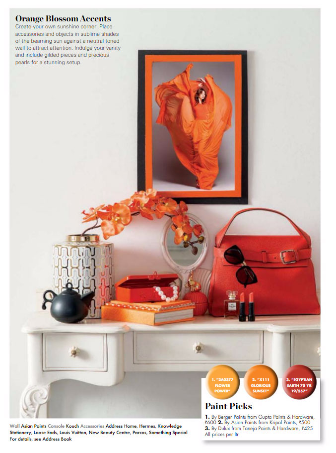 Paint Palette - Orange Blossom