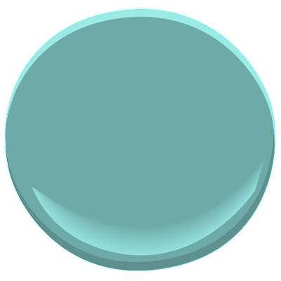Benjamin Moore Florida Key's Blue