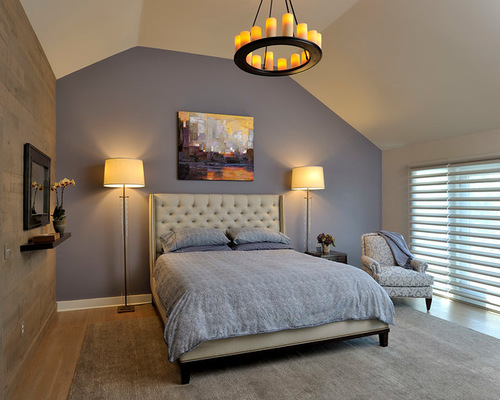 Light Accent Wall Bedroom