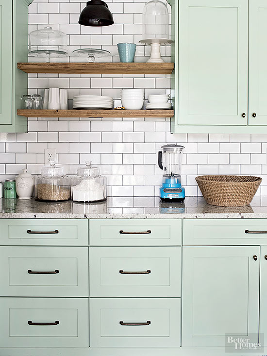 Benjamin Moore Tea Light Painted Kitchen Cabinets