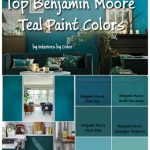 Benjamin Moore Teal Paint Colors by http://www.interiorsbycolor.com/