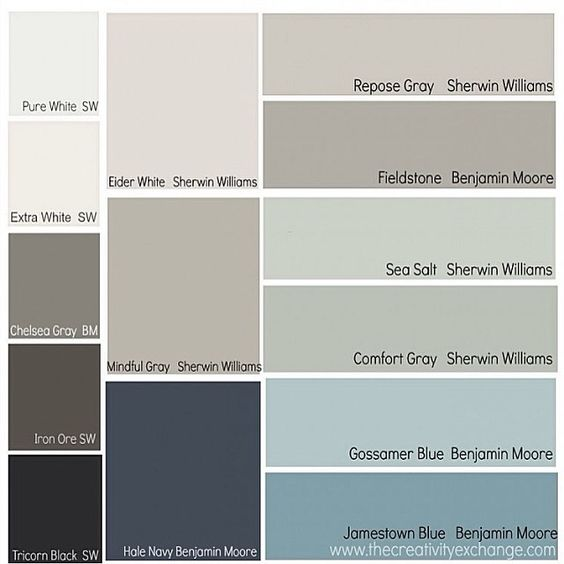 Sherwin Williams Color Favorites: Best Neutral Paint Color Palettes For Your Entire House